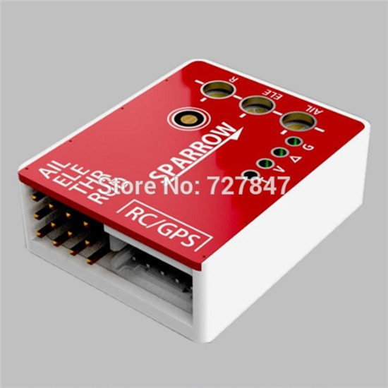 Sparrow Flight Controller with GPS Compass Fence Mode For